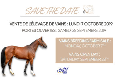 Open Day in Vains breeding farm this saturday !