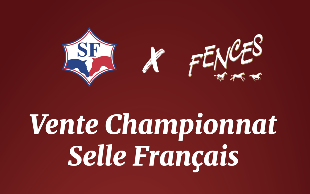 French Saddle Championship Sales x Web Fences