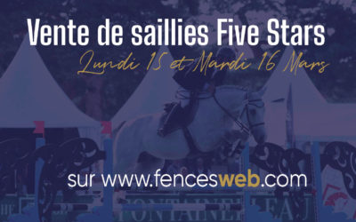 Vente de saillies Five Stars X Fences Web