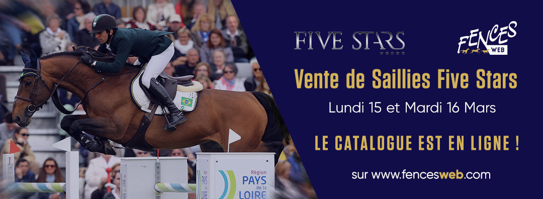 VENTE FIVE STARS : LE CATALOGUE EST EN LIGNE !